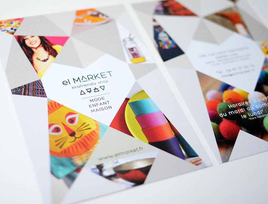 Julie Béal - El market - flyer