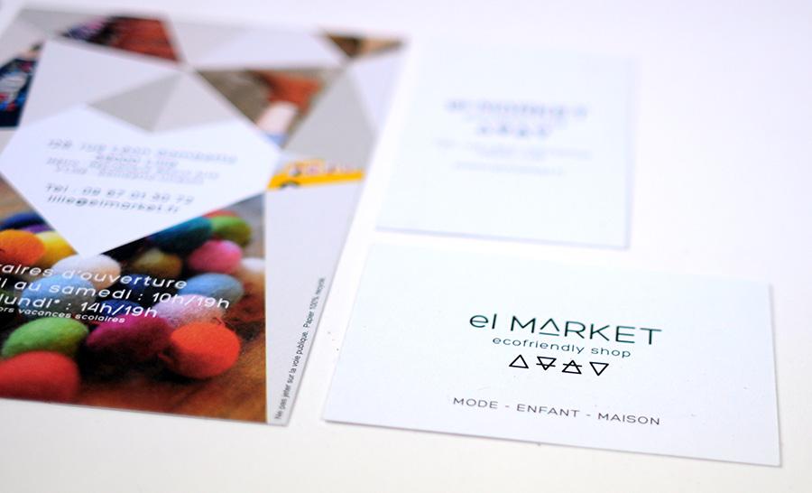 Julie Béal - El market - Identité visuelle