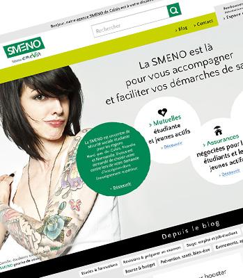 Julie Béal - Smeno - Webdesign